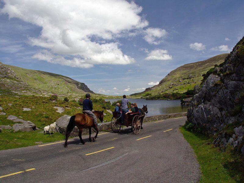 paardrijden gap of dunloe in ierland