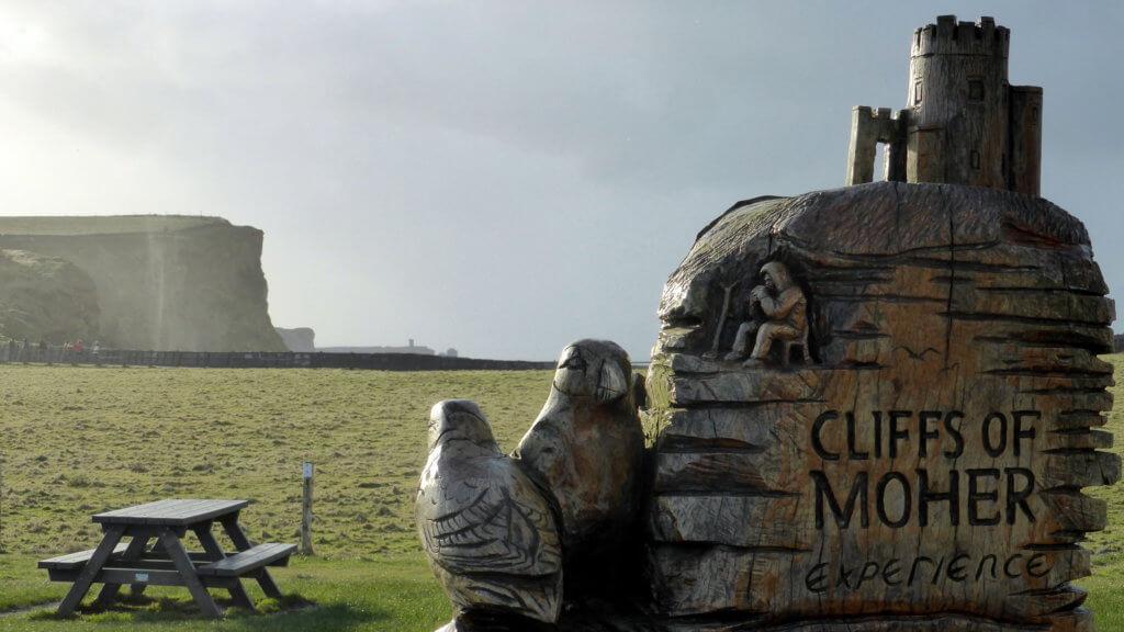 reis naar cliffs of moher in ierland