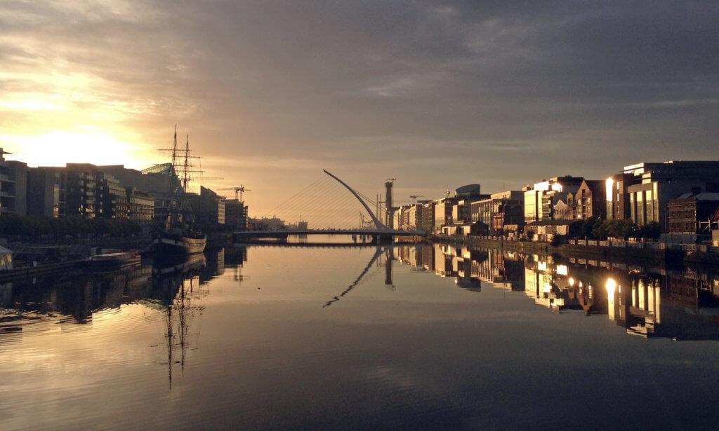 sunset stedentrip dublin bij tui