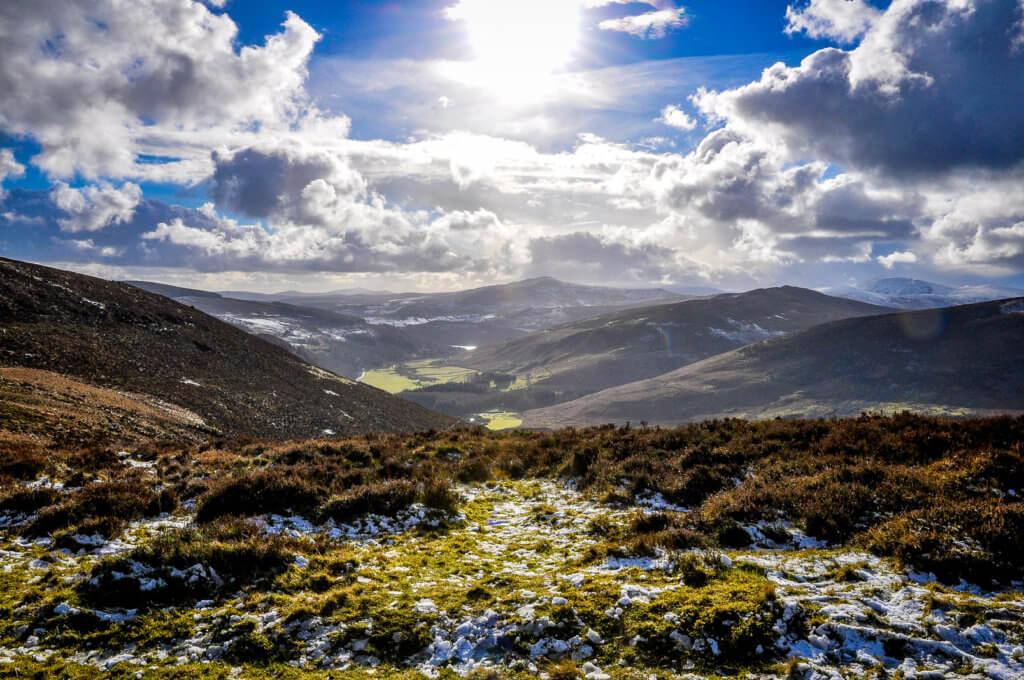 vakantie naar wicklow mountains in ierland
