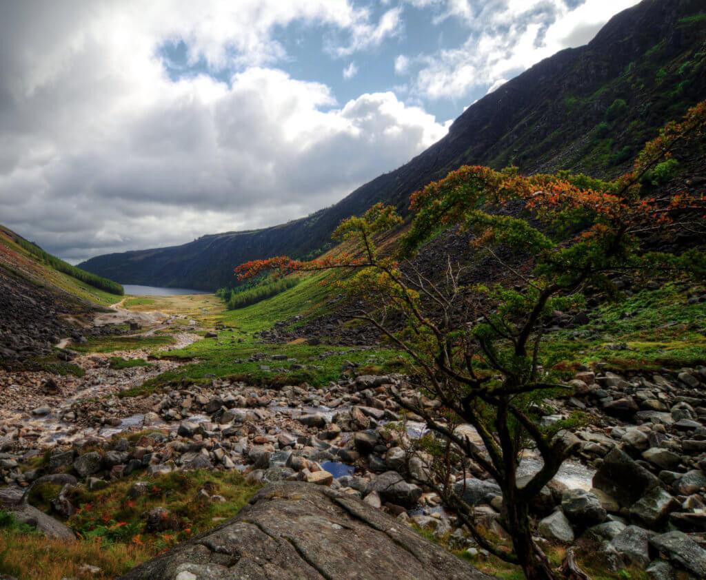 wandelen wicklow mountains in ierland vakantie
