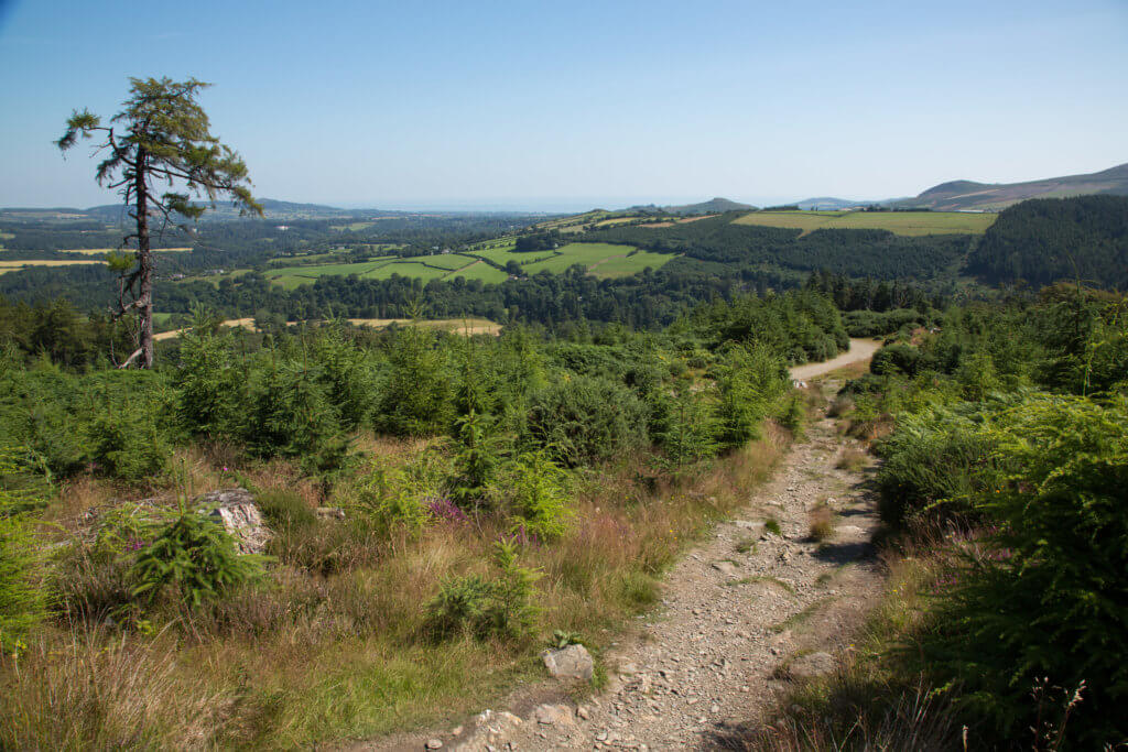 wandelvakantie wicklow way ierland